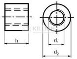 Round Coupling nut