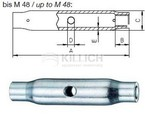 Turnbuckle made from tube or bar DIN 1478